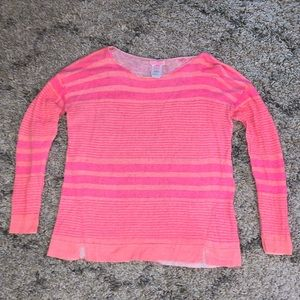 Lilly Pulitzer Linen Pink Sweater- M